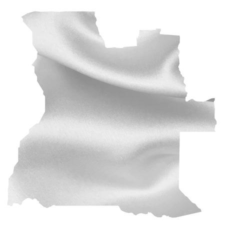 angola: Angola map Silk Illustration
