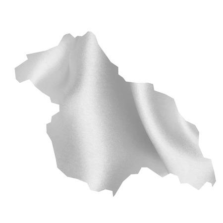 ネパール地図シルク  イラスト・ベクター素材
