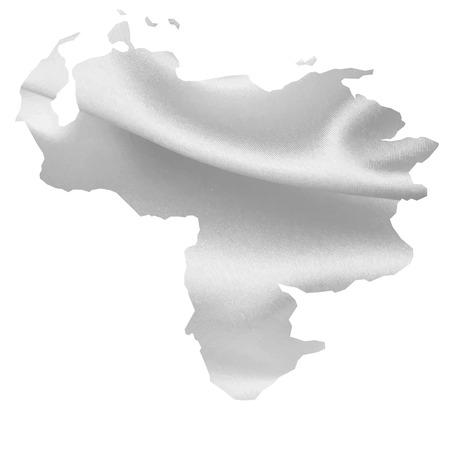 mapa de venezuela: Venezuela mapa de la Seda