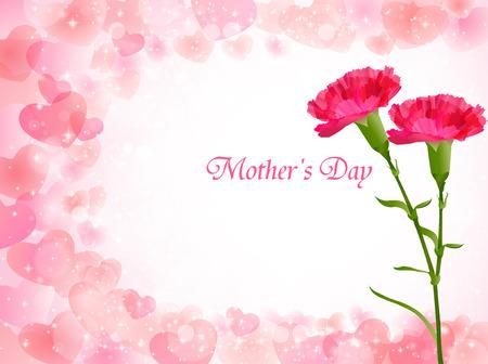 S 'Carnation Fête des Mères fond Banque d'images - 37885934