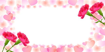 Carnation Mother  's Day background