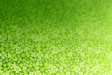 Clover leaf fresh green Vector