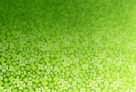 Clover leaf fresh green Vector
