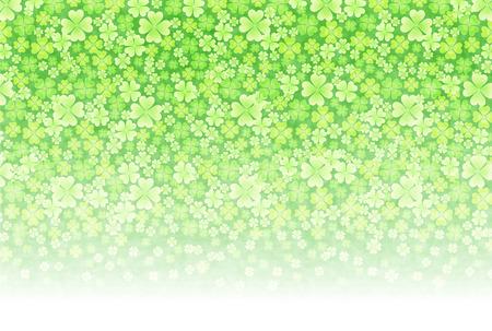 aoba: Grass clover background