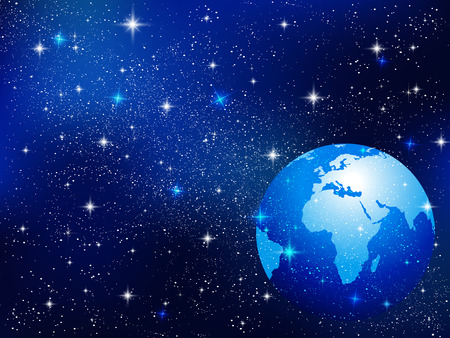 Earth and Space background