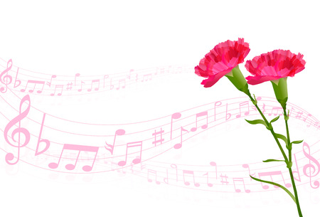 carnation: Carnation Mother \ s Day background