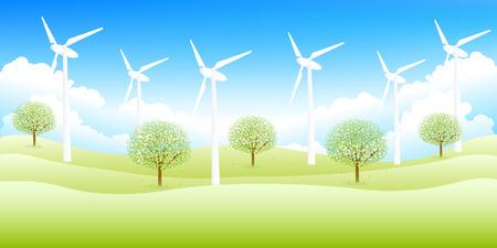 grasslands: Sky wind background