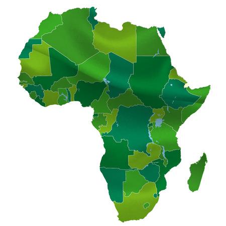 아프리카지도 국가