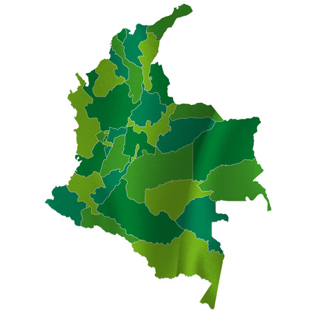 colombia: Colombia map country
