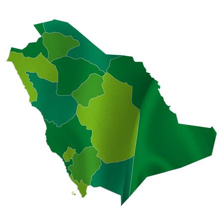 arabia: Saudi Arabia map country