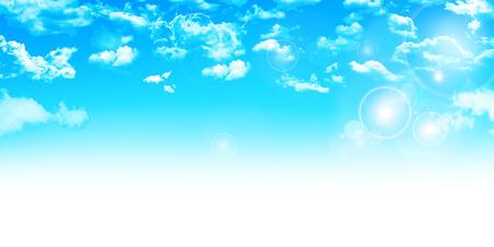 Sky landscape background