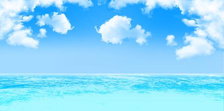 海空の背景