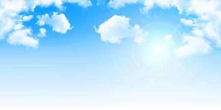 Cielo de fondo del paisaje