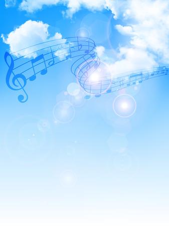 Sky background note