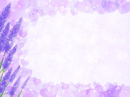 Lavender herb background