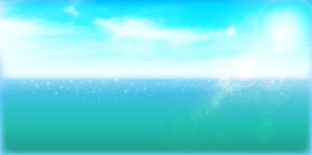 sea sky: Sea sky landscape