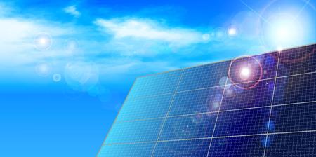 Solar solar background