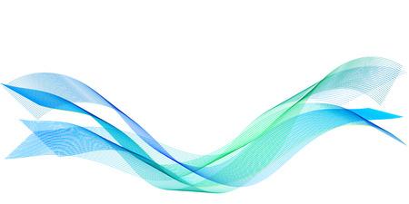 Sea wave line