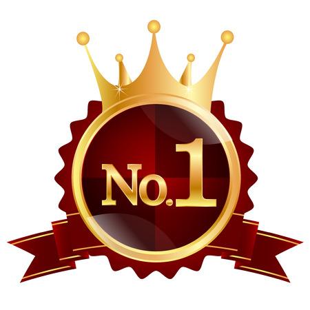 1: Crown medal 1