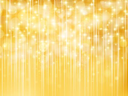 明るいゴールドの背景  イラスト・ベクター素材