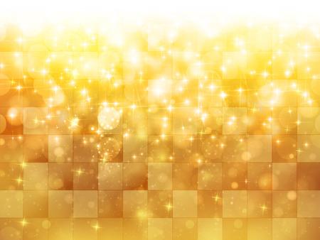 Light gold background Stock Illustratie