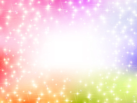 rainbow background: Light rainbow background Illustration