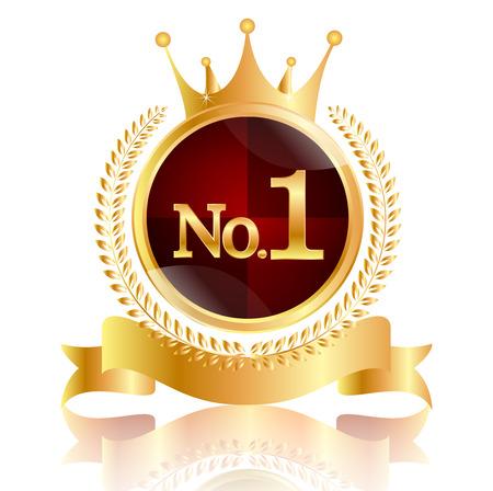 1 つの王冠勲章