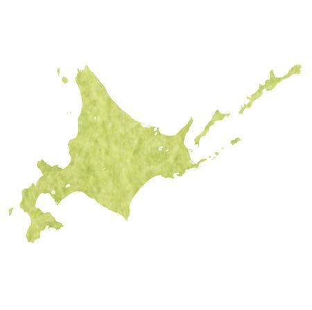 hokkaido: Hokkaido map icon