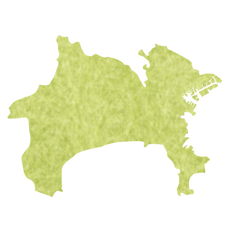 kanagawa: Kanagawa map icon