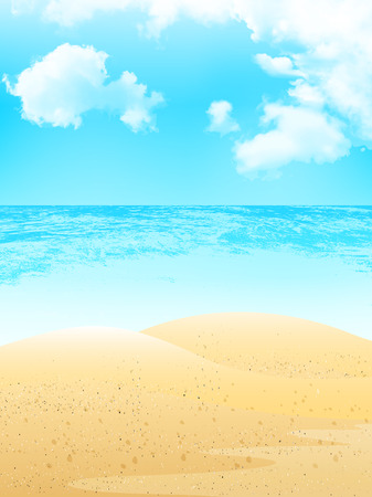 Sea sand background Stock Vector - 40881827