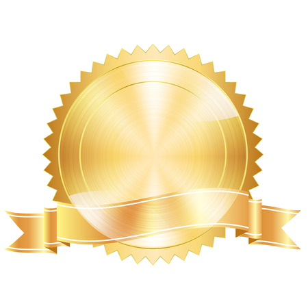 gold circle: Medal frame icon
