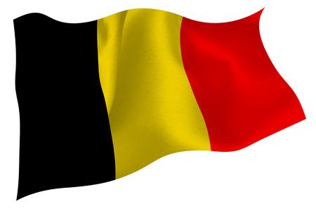 Belgium flag flag