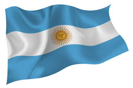 아르헨티나 깃발 깃발