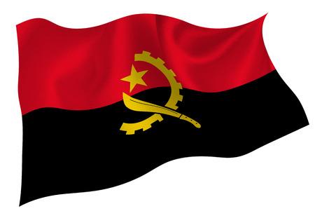angola: Angola flag flag