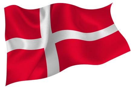 Denmark flag flag Vector