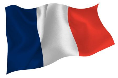 bandera francia: Bandera de Francia Bandera Vectores