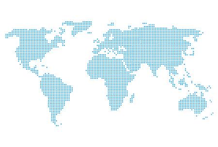 Wereldkaart icoon
