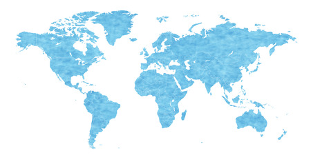 oceania: World map background