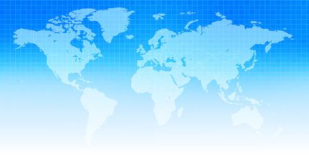 World map sky background 向量圖像