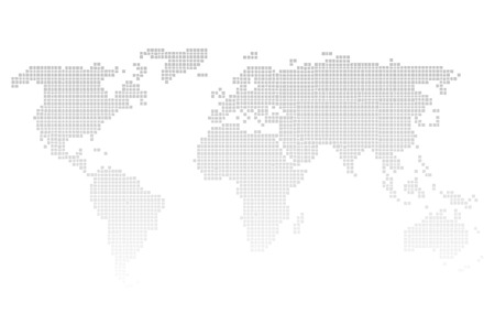 world map: World map icon