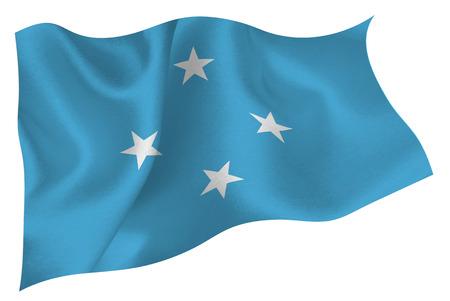 flag: Micronesia flag flag