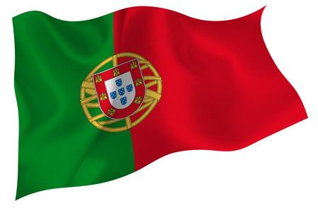 bandera de portugal: Bandera de la bandera nacional de Portugal