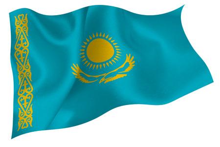 kazakhstan: kazakhstan Flag Flag Illustration