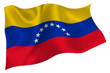 bandera de venezuela: Venezuela bandera bandera Vectores