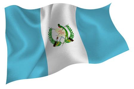 bandera de guatemala: Guatemala bandera bandera Vectores