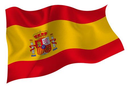 Spanish flag flag