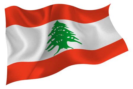 lebanon: Lebanon flag flag