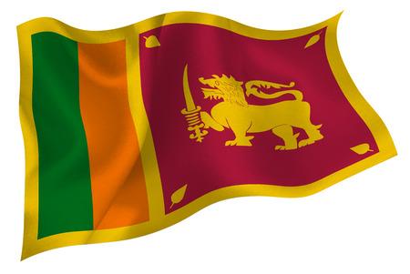 スリランカの旗旗