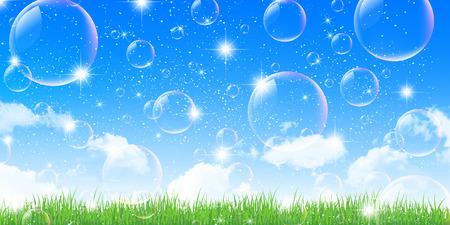sky grass: Sky grass background