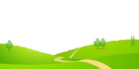 prairie: Sky prairie background Illustration